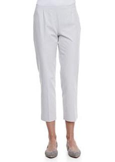Lafayette 148 New York Bi-Stretch Cropped Pants