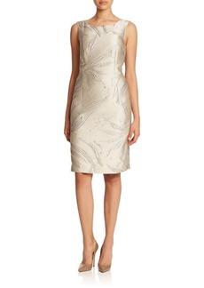 Lafayette 148 New York Biarritz Jacquard Faith Dress