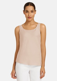Lafayette 148 New York Bias Cut Silk Tank