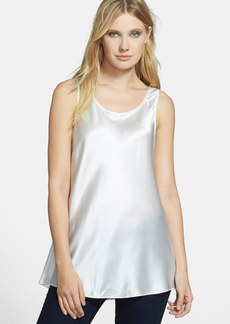 Lafayette 148 New York 'Blane' Silk Tank (Nordstrom Exclusive)