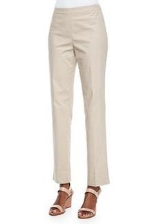 Lafayette 148 New York Bleecker Pants, Khaki