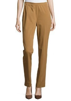 Lafayette 148 New York Bleecker Straight-Leg Pants, Butterscotch