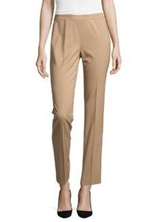 Lafayette 148 New York Bleecker Straight-Leg Pants, Cammello Melange