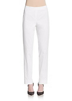 Lafayette 148 New York Bleecker Stretch Cotton Pants