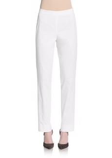 Lafayette 148 New York Bleecker Stretch Cotton Pants