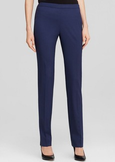 Lafayette 148 New York Bleecker Stretch Wool Pants