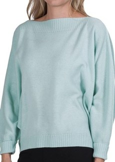 Lafayette 148 New York Boat Neck Sweater - Merino Wool (For Women)