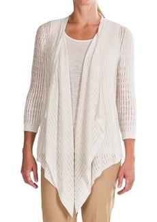 Lafayette 148 New York Botanico Cardigan Sweater - 3/4 Sleeve (For Women)