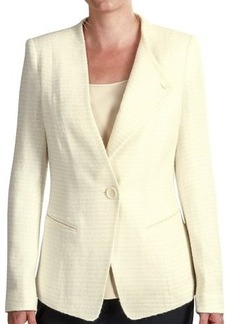 Lafayette 148 New York Bridgette Aero Reed Cloth Blazer - Wool (For Women)