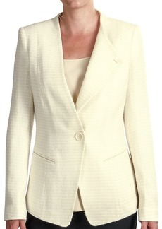 Lafayette 148 New York Bridgette Aero Reed Cloth Blazer - Wool (For Women)