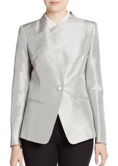 Lafayette 148 New York Bridgette Silk Blazer