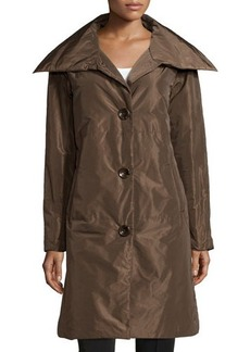 Lafayette 148 New York Button-Front Long Coat