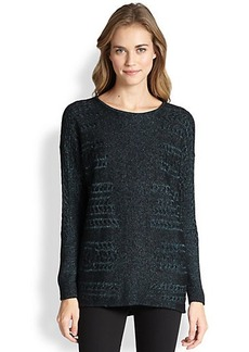 Lafayette 148 New York Cable-Detail Sweater