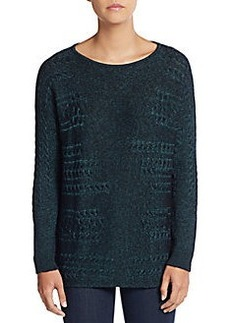 Lafayette 148 New York Cable-Knit Sweater