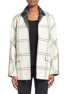 Lafayette 148 New York 'Campbell' Jacquard Topper