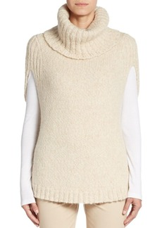 Lafayette 148 New York Cape-Sleeve Turtleneck Sweater