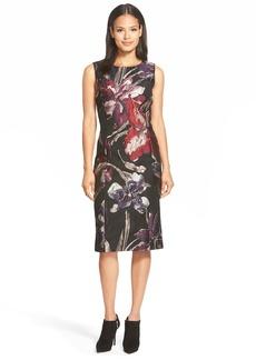 Lafayette 148 New York 'Carol' Floral Jacquard Sheath Dress