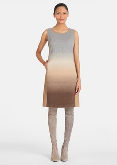 Lafayette 148 New York 'Caroline' Ombré Wool Blend Dress