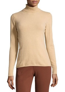 Lafayette 148 New York Cashmere-Blend Turtleneck Sweater