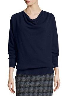 Lafayette 148 New York Cashmere Cowl-Neck Sweater