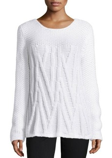 Lafayette 148 New York Cashmere Hand-Knit Tunic