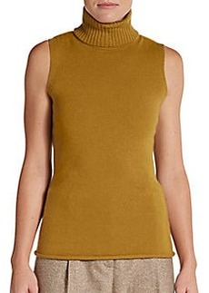Lafayette 148 New York Cashmere Turtleneck Top