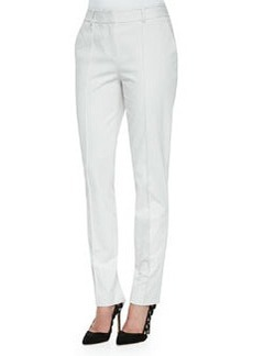 Lafayette 148 New York Center-Seam Slim Pants, Vapor