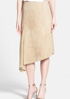 Lafayette 148 New York 'Chantee' Supple Suede Skirt