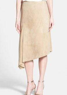Lafayette 148 New York 'Chantee' Supple Suede Skirt