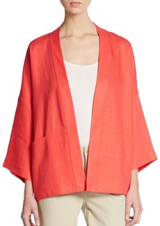 Lafayette 148 New York Cherise Linen Jacket
