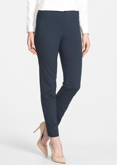Lafayette 148 New York 'Chrystie' Slit Hem Slim Pants