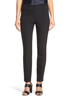 Lafayette 148 New York 'City' Seam Detail Stretch Slim Pants