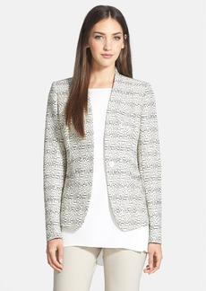 Lafayette 148 New York 'Clary' One-Button Jacket