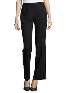 Lafayette 148 New York Classic Stretch-Knit Pants, Black