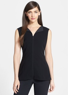 Lafayette 148 New York 'Colie - Tech Cloth' Sleeveless Blouse