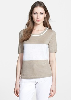 Lafayette 148 New York Colorblock Sweater