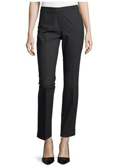 Lafayette 148 New York Contemporary Stretch Slim Pants