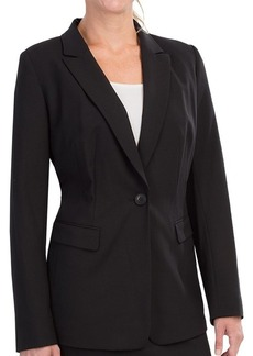 Lafayette 148 New York Contemporary Stretch Wool Jacket - Notched Collar (For Women)