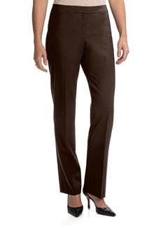 Lafayette 148 New York Contemporary Stretch Wool Pants - Straight Leg (For Women)