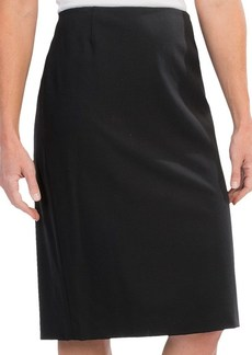 Lafayette 148 New York Contemporary Stretch Wool Slim Skirt (For Women)