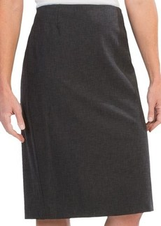 Lafayette 148 New York Contemporary Stretch Wool Slim Skirt (For Women)