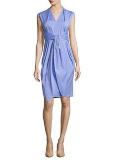 Lafayette 148 New York Corrine Tie-Waist Dress, Lilac