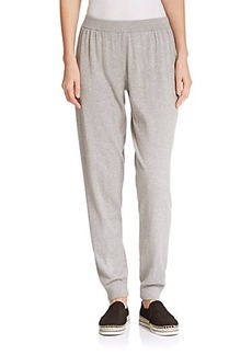 Lafayette 148 New York Cotton & Cashmere Track Pants
