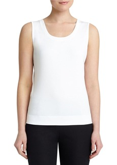 LAFAYETTE 148 NEW YORK Cotton-Blend Tank Top