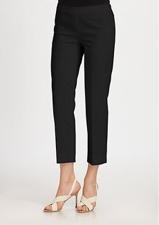 Lafayette 148 New York Cropped Bleecker Metropolitan Stretch Pants