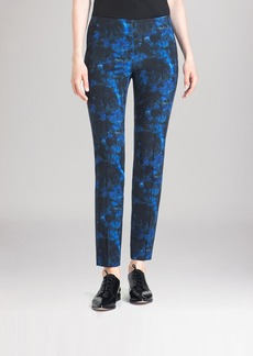 Lafayette 148 New York Cropped Floral Print Pants