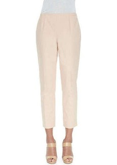 Lafayette 148 New York Cropped Fundamental Bi-Stretch Pants  Cropped Fundamental Bi-Stretch Pants