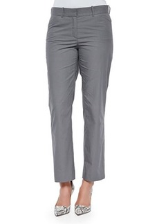 Lafayette 148 New York Cropped Straight-Leg Pants