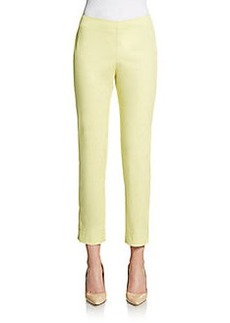 Lafayette 148 New York Cropped Stretch Trousers