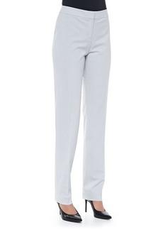 Lafayette 148 New York Crosby Straight-Leg Wool Pants